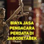 Biaya Jasa Pengacara Perdata di Kampung Tengah JAKARTA TIMUR