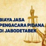 Biaya Jasa Pengacara Pidana di Batu Ampar JAKARTA TIMUR