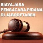 Biaya Jasa Pengacara Pidana di Rawamangun JAKARTA TIMUR