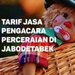 Berapa Tarif Jasa Pengacara Perceraian di Pondok Jaya,TANGERANG SELATAN
